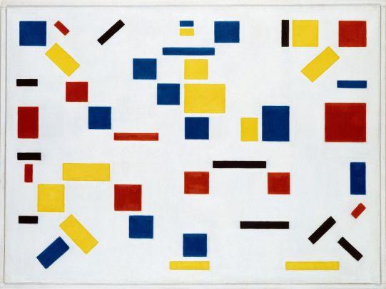 Bart van der Leck - Compositie 8