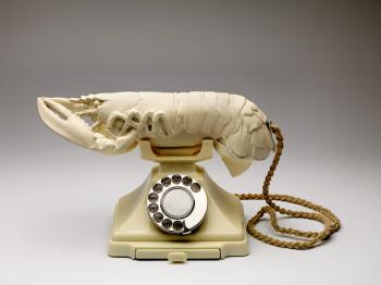 Salvador Dali - Witte lustopwekkende telefoon