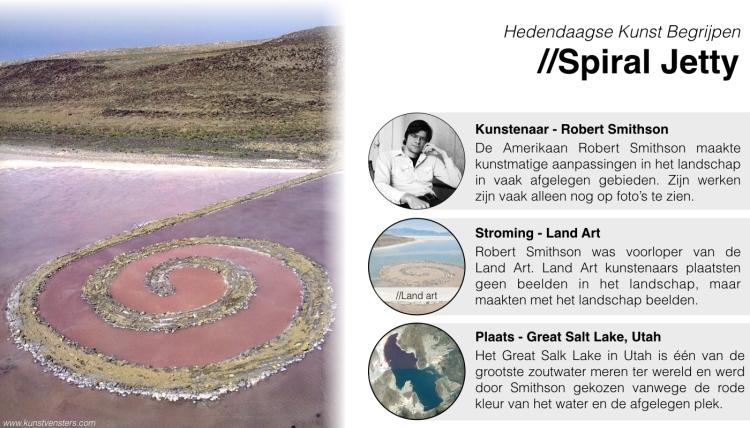 Hedendaagse Kunst Begrijpen - Robert Smithson - Spiral Jetty