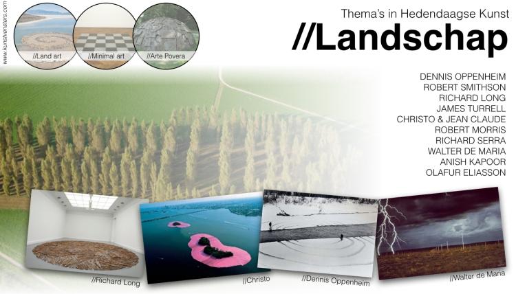 Thema's Hedendaagse Kunst - Landschap