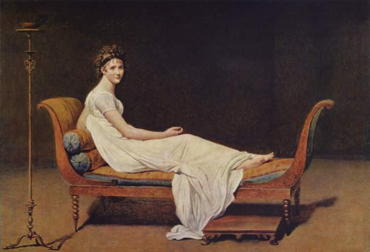 Juliette Récamier - Jacques Louis David