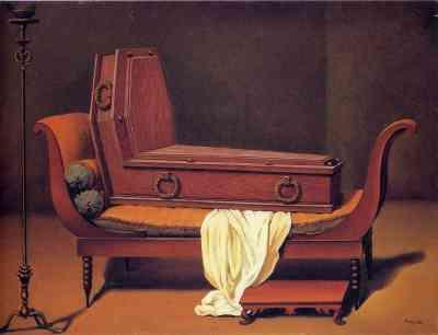 Juliette Récamier - René Magritte