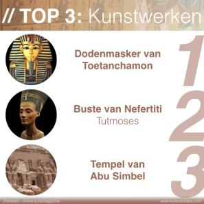 Kunstgeschiedenis - Egyptische Kunst - Beste Werken