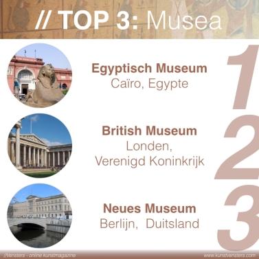 Kunstgeschiedenis - Egyptische Kunst - Musea