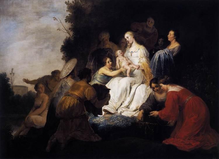 Pieter de Grebber - Mozes