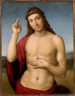 Rafael - Zegenende Christus