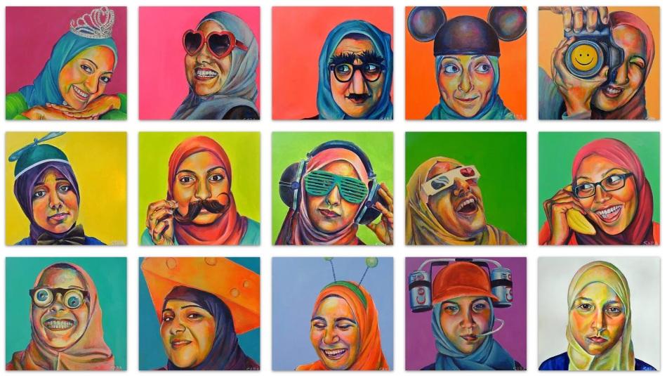 Saba Chaudhry Barnard - Technicolor Muslimah