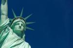 Het Vrijheidsbeeld werd geboren alsmoslim