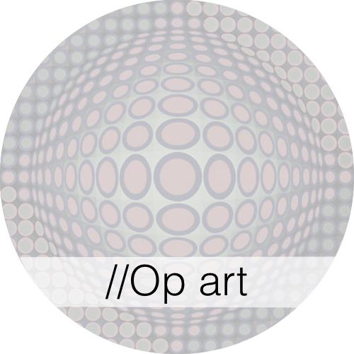 Kunstgeschiedenis - Op Art