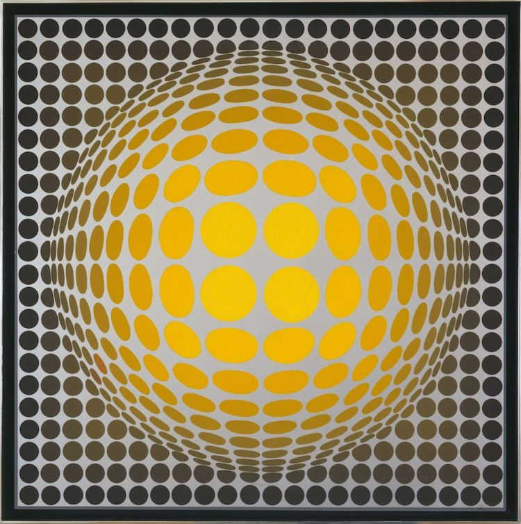 Victor Vasarely - Vega Or