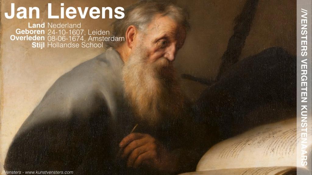 Vergeten Kunstenaars - Jan Lievens