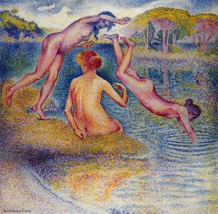 Henri Edmund Cross - Bathers