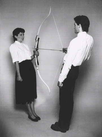 Marina Abramovic & Ulay - Arrow