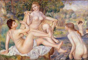 Pierre Auguste Renoir - Les Grandes Baigneuses