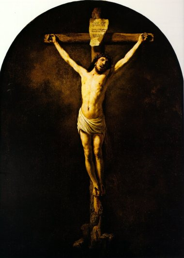 Rembrandt van Rijn - Christus aan het Kruis