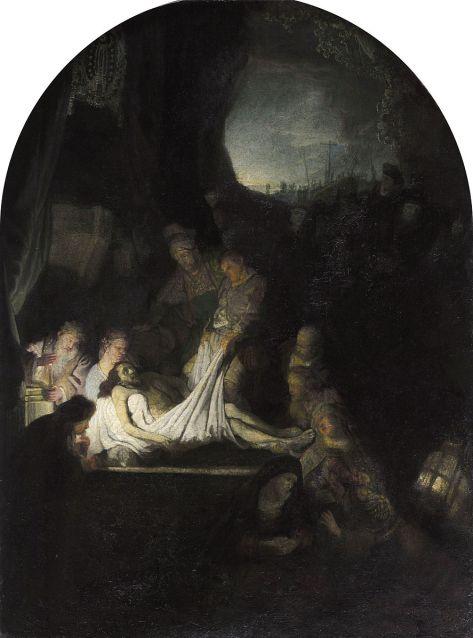 Rembrandt van Rijn - Begravenis