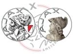 Staat de verkeerde Griekse held in het logo vanAjax?