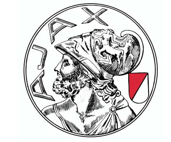 Oude Logo van Ajax (1928-1990)