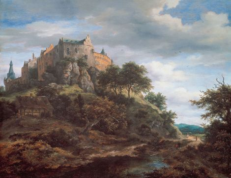 Imposant en Overweldigend: Kasteel Bentheim door de ogen van Jacob vanRuisdael