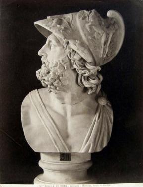 Buste van Menelaos