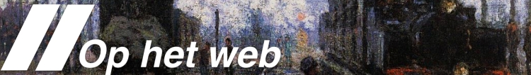 Maandoverzicht: Kunst op het Web