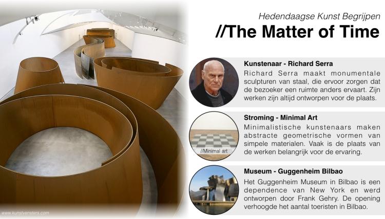 Hedendaagse Kunst - Richard Serra - Bilbao Guggenheim