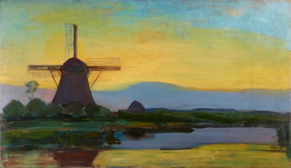 piet mondriaan: abstracte landschapschilder – //vensters