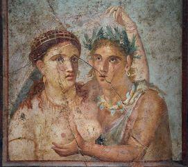Erotische fresco