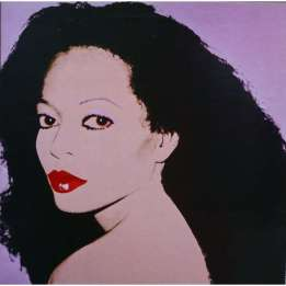 Andy Warhol - Diana Ross