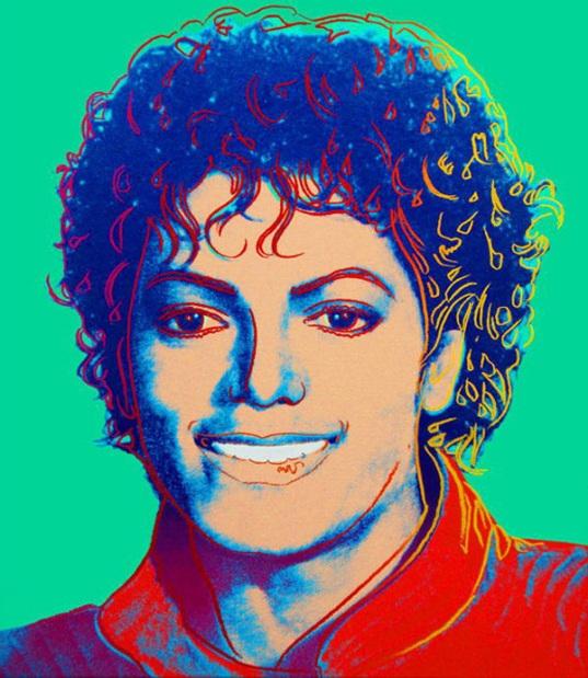 Andy Warhol - Michael Jackson