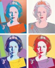 Andy Warhol - Koningin Beatrix van Nederland