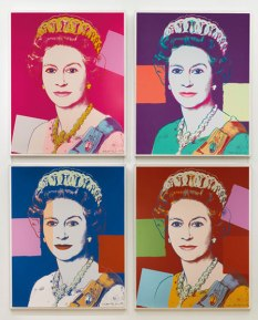 Andy Warhol - Koningin Elizabeth van Groot Brittanië