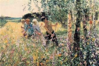 Arkady Plastov - Hooi maken