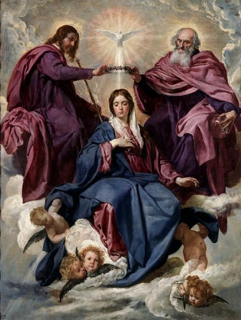 Diego Velazquez - Kroning van Maria