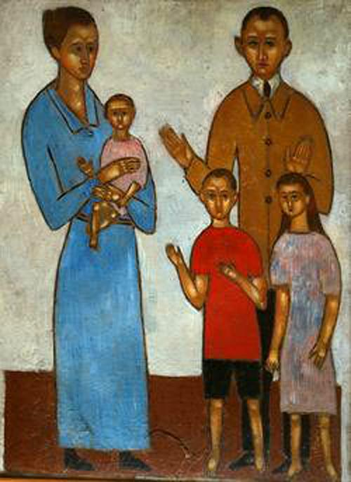 Vladimir Komarovsky - Familieportret
