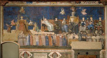 Ambrogio Lorenzetti - Allegorie op Goed Bestuur