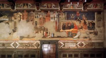 Ambrogio Lorenzetti - Allegorie op Slecht Bestuur