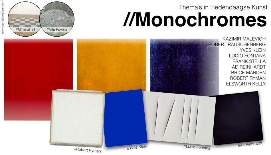 Hedendaagse Kunst - Monochromes