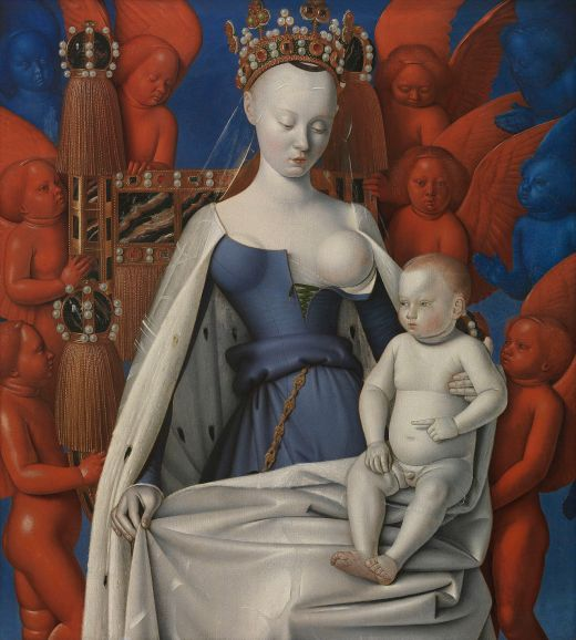 Jean Fouquet - Madonna