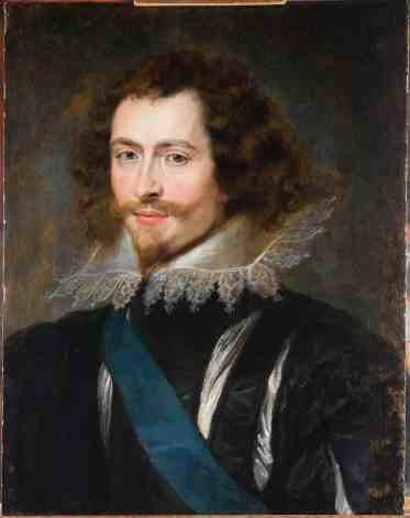 Peter Paul Rubens - Portret van Georges Villiers