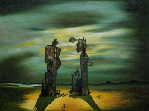 Salvador Dali - Archeological Reminiscence of Millet's Angelus