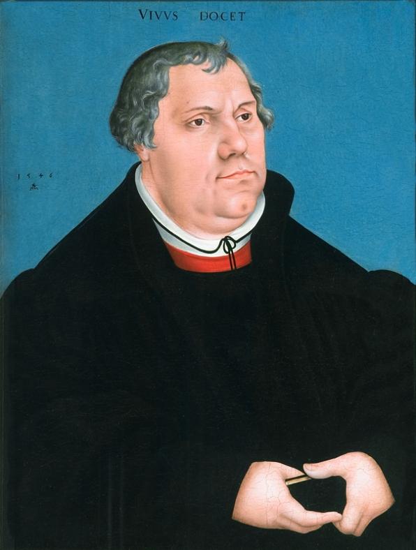 Lucas Cranach - Maarten Luther