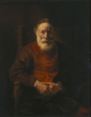 Rembrandt van Rijn - Portret van een Oude Man