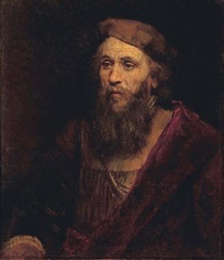 Rembrandt van Rijn - Portret van een Man