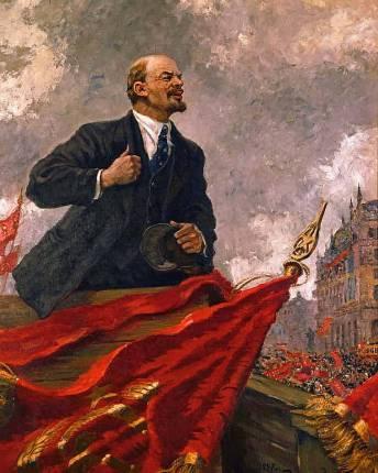 Alexander Gerasimov - Lenin