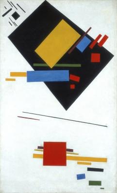 Kazimir Malevich - Suprematistisch Schilderij (voor de revolutie)