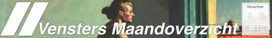 Kunst Maandoverzicht November 2017