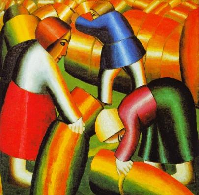 Kazimir Malevich - de Oogst (na de revolutie)