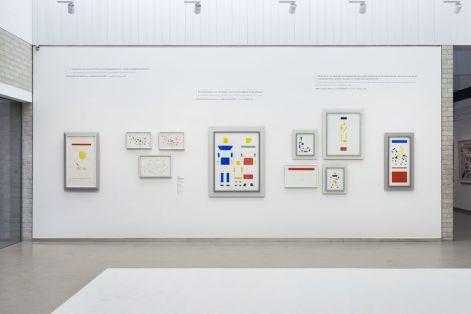 Zaaloverzicht Tentoonstelling Kröller-Müller Museum - foto: Marjon Gemmeke