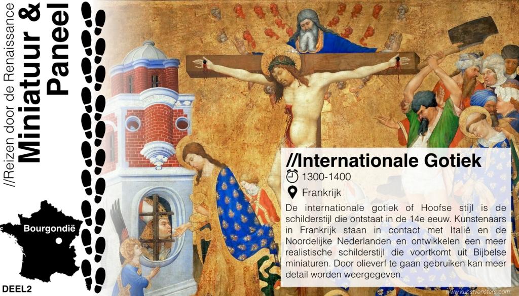 Reizen door de Renaissance - Internationale Gotiek